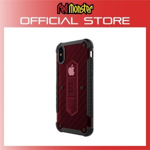 RETHINK ARMOUR Carbon Case for iPhone X - (Carbon Red)