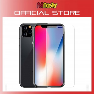 "iPhone 11/XR (6.1"") Ultra HD Clear Cover Tempered Glass Film"