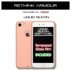 Liquid Soft Silicon iPhone 7 / 8 (Soft Peach)