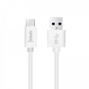 RMW USB A TO TYPE C 0.18M (White)