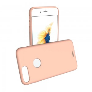 Liquid Soft Silicon iPhone 7 Plus / 8 Plus (Soft Peach)