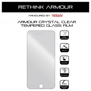 Armour Airnergy Crystal Clear Tempered Glass iPhone 7 Plus / 8 Plus