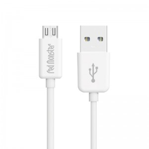 RMW USB A TO MICRO 0.18M (White)