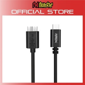 USB-C to Micro-B (3.1 GEN 1) BLACK (0.18M)